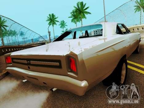 Plymouth GTX für GTA San Andreas zurück linke Ansicht
