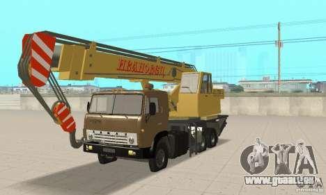 KAMAZ 53213 COP 4572 pour GTA San Andreas