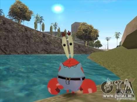 Mr. Krabs für GTA San Andreas