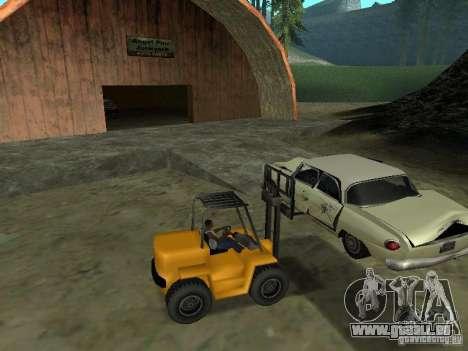 Radlader für GTA San Andreas linke Ansicht