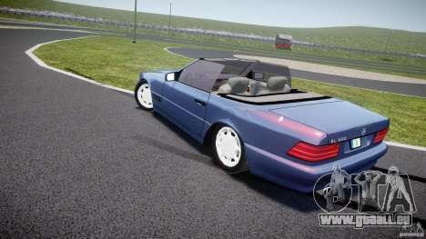 Mercedes-Benz SL500 pour GTA 4 Vue arrière de la gauche