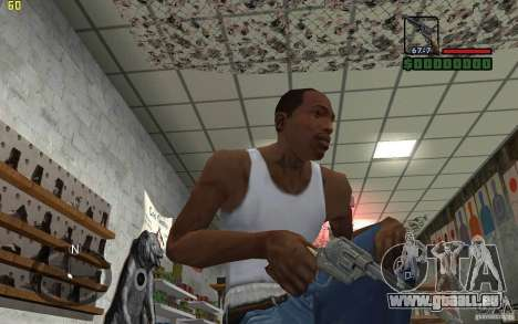 Colt Single Action Army für GTA San Andreas dritten Screenshot