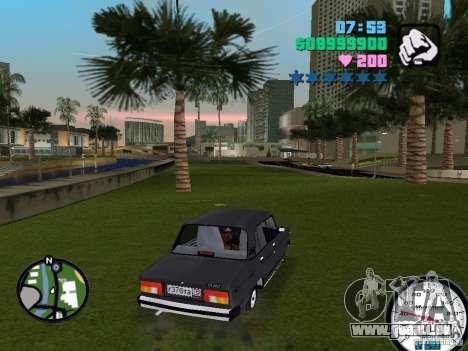 VAZ 2105 pour une vue GTA Vice City de la droite