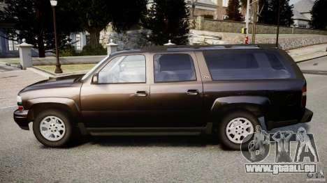 Chevrolet Suburban Z-71 2003 pour GTA 4 est une gauche