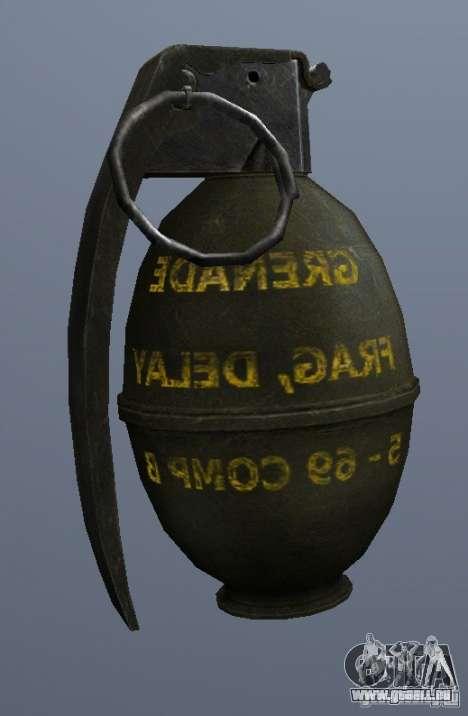 M61 Grenade für GTA San Andreas