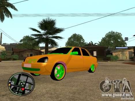 VAZ-2174 Priora Crazy Taxi für GTA San Andreas
