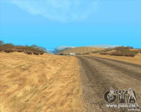 Desert HQ pour GTA San Andreas deuxième écran