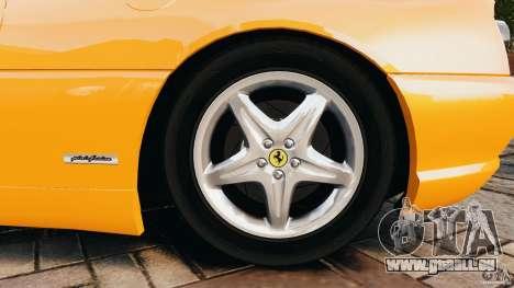 Ferrari F355 F1 Berlinetta pour GTA 4 est un côté