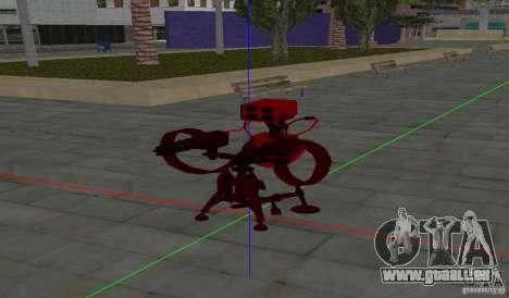 Tourelle de Team Fortress 2 pour GTA San Andreas troisième écran