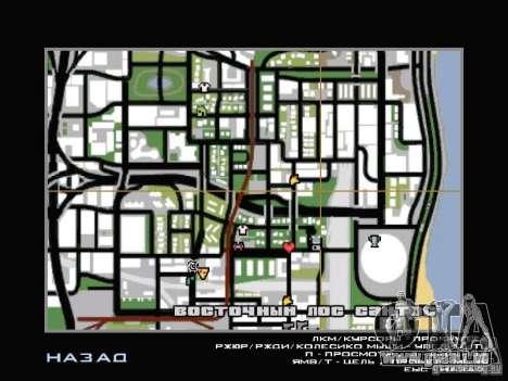 Service de voiture près de Grove pour GTA San Andreas sixième écran