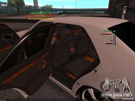 Mercedes-Benz 600SEL AMG 1993 für GTA San Andreas Seitenansicht