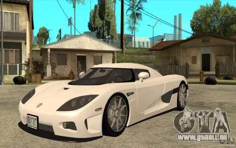 Koenigsegg CCX - Stock pour GTA San Andreas