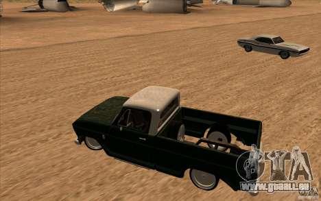 Chevrolet C-10 Fixxa pour GTA San Andreas laissé vue