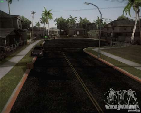 Nouvelles routes autour de San Andreas pour GTA San Andreas troisième écran