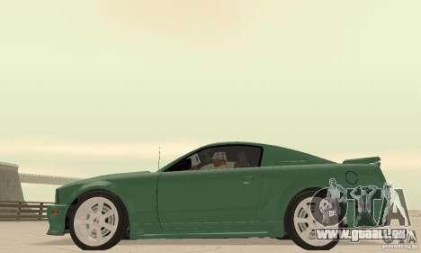 Saleen S281 v2 pour GTA San Andreas vue de droite