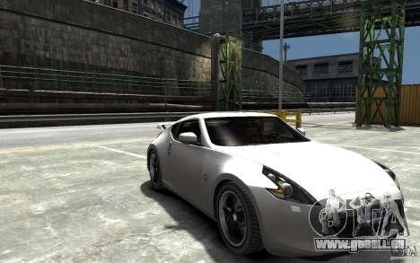 Nissan 370z Tuned Final pour GTA 4 Vue arrière