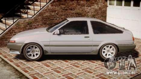 Toyota Sprinter Trueno 1986 für GTA 4 linke Ansicht
