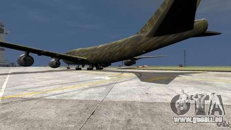Airbus Military Mod für GTA 4 linke Ansicht