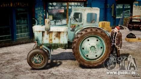 Traktor T-40 m für GTA 4 linke Ansicht