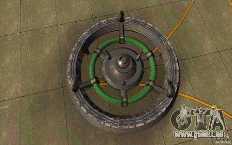 UFO hunter für GTA San Andreas linke Ansicht