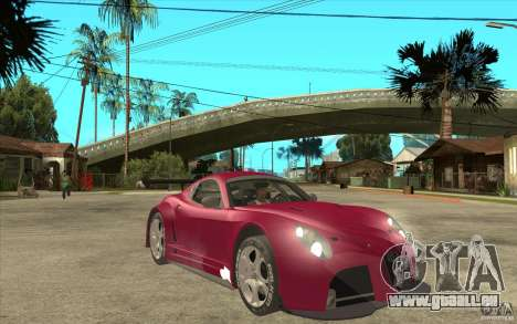 Alfa Romeo 8C GT3 RSX für GTA San Andreas Rückansicht
