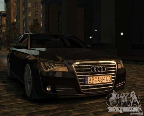 Audi A8 2010 pour GTA 4