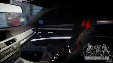 BMW M3 Hamann E92 für GTA 4 Innenansicht