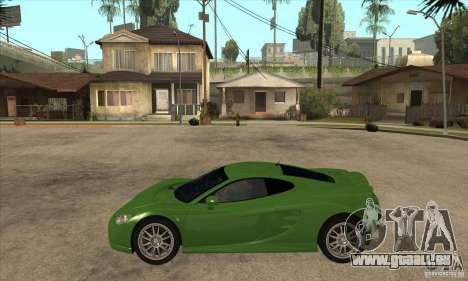 Ascari KZ1 für GTA San Andreas linke Ansicht