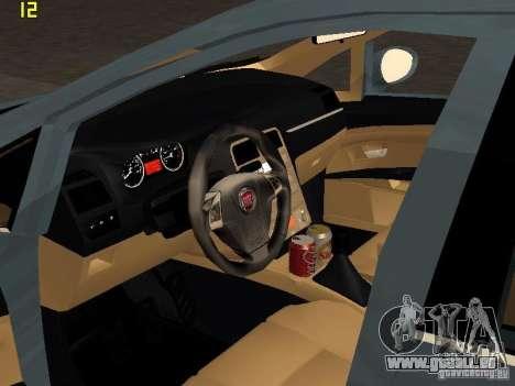 Fiat Linea T-jet pour GTA San Andreas vue de droite