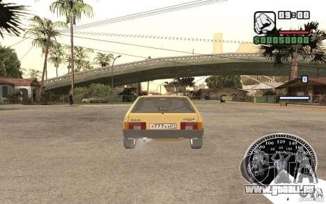 VAZ 21093i pour GTA San Andreas vue arrière