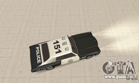 Chevrolet Monte Carlo 1970 Police für GTA San Andreas zurück linke Ansicht