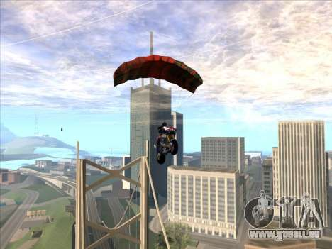 Fallschirm für bajka für GTA San Andreas