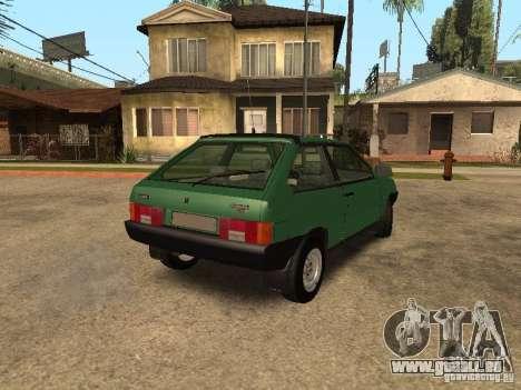 VAZ 2108 Drain pour GTA San Andreas sur la vue arrière gauche