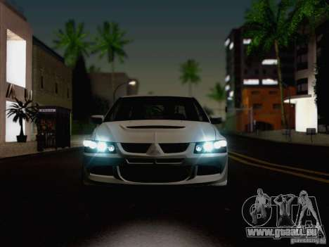 New Car Lights Effect für GTA San Andreas fünften Screenshot