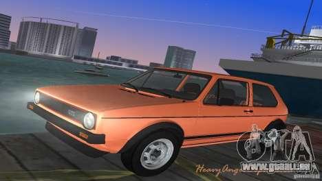 Volkswagen Golf Mk1 GTI pour GTA Vice City