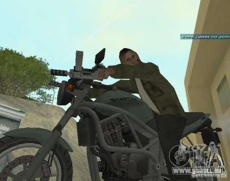 PCJ-600 in GTA IV für GTA San Andreas linke Ansicht