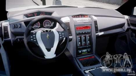 Carbon Motors E7 Concept Interceptor NYPD [ELS] für GTA 4 rechte Ansicht