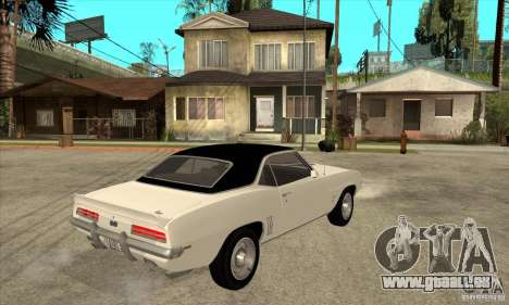 Chevrolet Camaro SS - Stock für GTA San Andreas rechten Ansicht