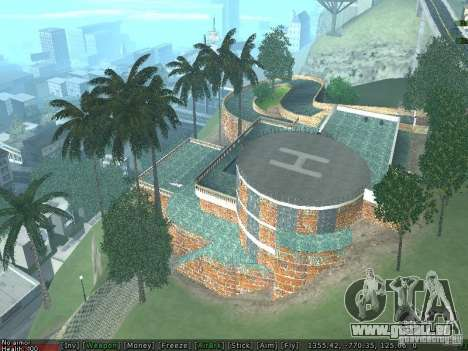 Neue Villa Med-Dogg für GTA San Andreas her Screenshot