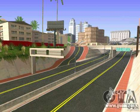 Neue Texturen von Los Santos für GTA San Andreas achten Screenshot