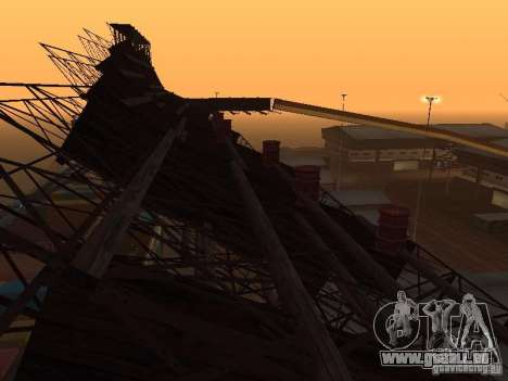 Huge MonsterTruck Track pour GTA San Andreas dixième écran