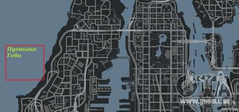 Désert de Gobi pour GTA 4 dixièmes d'écran