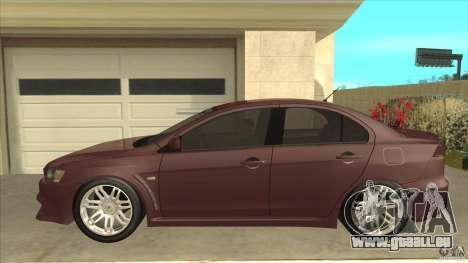 Proton Inspira v1 pour GTA San Andreas laissé vue