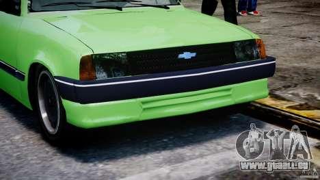 Chevrolet Chevette 1.6 1993 für GTA 4 Seitenansicht