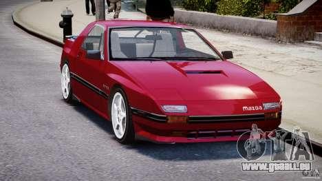 Mazda RX7 FC3S v2 FINAL pour GTA 4 est un droit