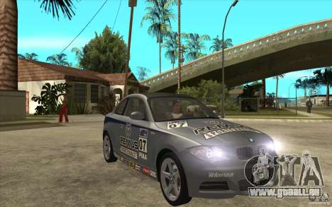 BMW 135i Coupe pour GTA San Andreas vue intérieure