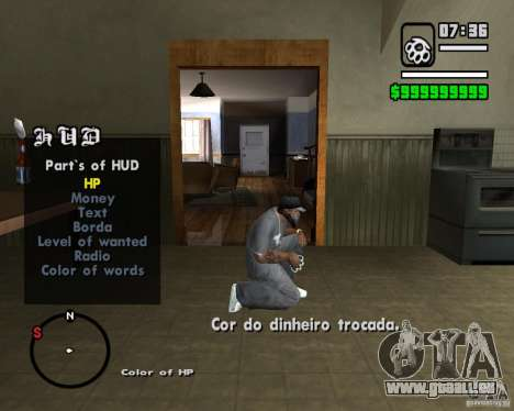 Change Hud Colors für GTA San Andreas her Screenshot