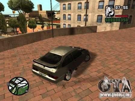 Ford Sierra Drift für GTA San Andreas Seitenansicht