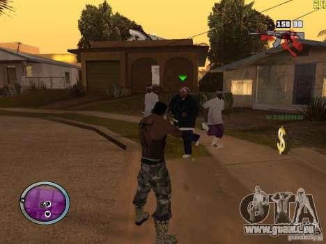 Nouvelle zone GANGSTER pour GTA San Andreas huitième écran