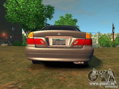 Mitsubishi Diamante v2.0 pour GTA 4 Vue arrière de la gauche